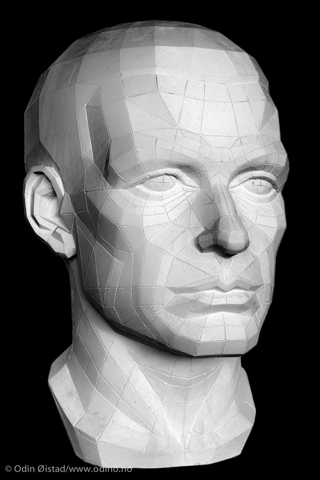 Geometrical Head • 1998 • 30 x 35 x 48