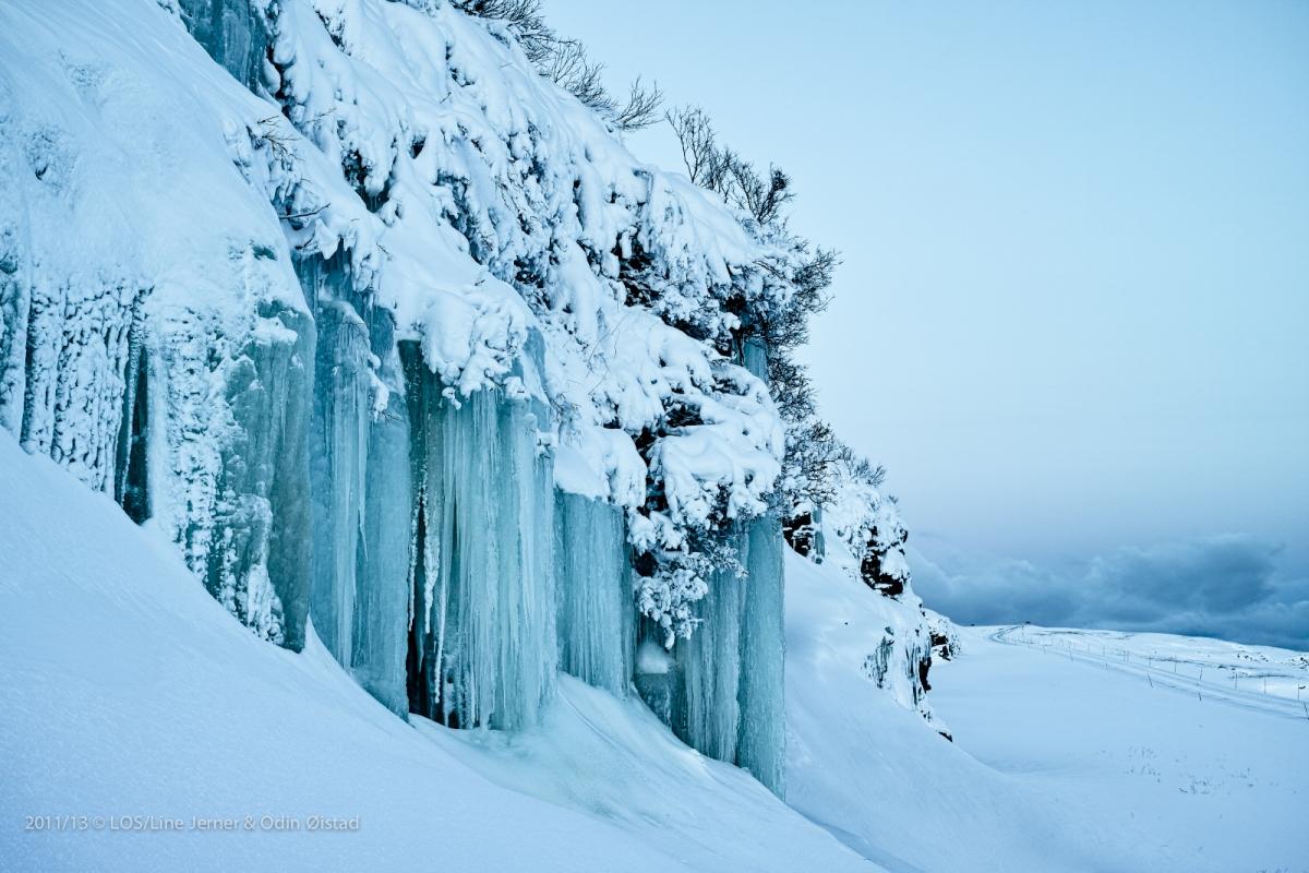 Landskap vinter I 87,6 x 65