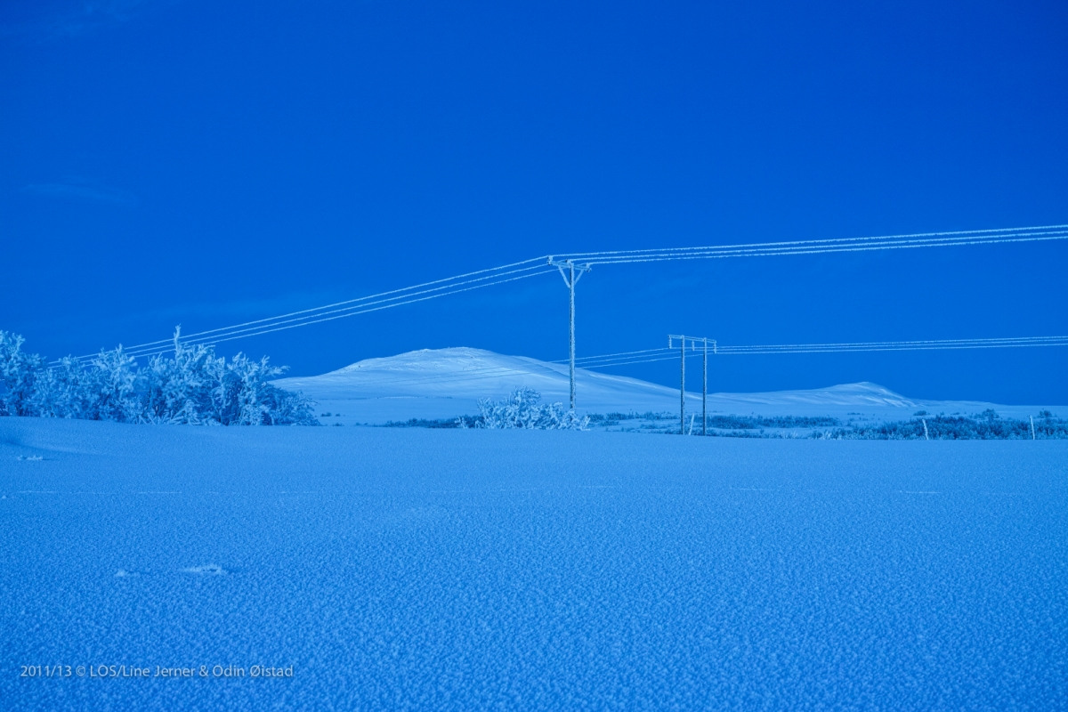 Vinter Blå 117 x 90