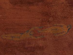 Svevere XIII rød 100 x 70