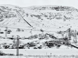 Vinter Hvit 117 x 90
